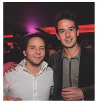 Marc Pfohl (TVTrip) et Jérôme Hiquet (Club Med)