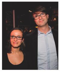 Ludovic Delaherche (Eyeka) et Vanessa Orzechowski (Stratégies)