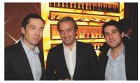 Laurent Foisset (118 218), Dominique Delport (Havas Media) et Florian Grousset (118 218)