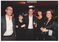 Vincent de Bernardi, Karine Bergon, Mathieu Mathelin (SPQR), Anne Berthod (La Vie) et Géraldine Dalban-Moreynas (Milbox)