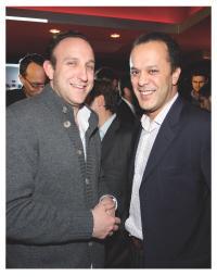 Jean-Emile Rosenblum (Pixmania) et François Benthanane (Youbridge.com)