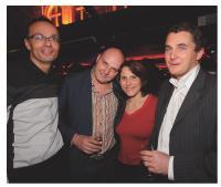 Pierre Cannet (Blue-Search), Frédéric Bellier (Dailymotion), Stéphanie Léger (Showroomprivé) et Fabrice Valay (MSD)