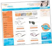 Happyview entend séduire les internautes grâce à ses tarifs attractifs: les lunettes sont vendues à partir de 39 euros.