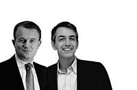 Jean-Pierre Remy et Pascal Garcia