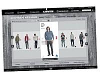 Un même site réunissant boutique en ligne et contenu de marque pour Levi's