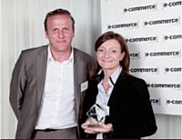 Sébastien Boitelle (Aprimo) a remis le 3e prix à Thina Cadierno (UCPA).