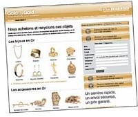En rachetant l'or des particuliers, Goldbygold.com veut contribuer à limiter l'exploitation minière et les dommages sur l'environnement.