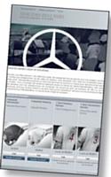 Avec son e-shop, Mercedes cherche à se rapprocher de ses clients et à améliorer son image.