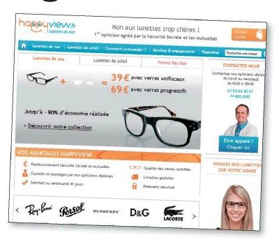 Une armée de sites internet spécialisés dans la vente de lunettes  correctrices envahit le Web. 48b0fa1298b2
