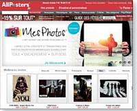 AllPosters met vos photos sur toile ou sur affiche.