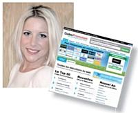Mélodie Laperdrix responsable marketing de Codespromotion.fr: « Notre modèle économique nous met, a priori, à l'abri des attaques de hackers. »