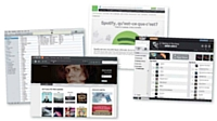 Spotify, iTunes, Deezer, Edjing..., les plateformes dédiées à la musique en ligne se multiplient mais peinent encore à être rentables.