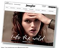 L'une des grandes forces du site de Jennyfer est de parvenir à rediriger beaucoup de ses visiteurs vers les magasins physiques.