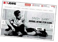 L'identité de SoJeans est aisément transposable à l'international.