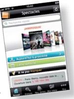 L'appli Tick&Live fournit des informations en temps réel, notamment sur les disponibilités de tickets, et met en place l'envoi de m-tickets sur les mobiles.