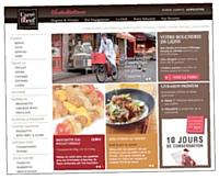 Graphiquement très réussi, Carredeboeuf.com ouvre l'appétit sans vider le porte-monnaie.