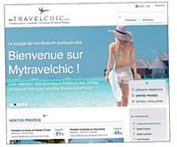 Mytravelchic propose aussi bien des ventes privées que des formules de voyage classiques.