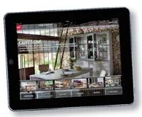 Particulièrement soignée, l'application de But pour iPad fait la part belle à des visuels très qualitatifs.