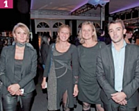 1 Caroline Gillon, Editialis Factory, Géraldine Teboul, Hybris Software, Sophie Mazurel (Editialis), et Simon Leprat (Ecommercemag.fr)