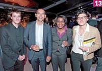 13 Clément Nicolas (Ecommercemag.fr), David Chau et Glynnis Makoundou (Trusted Shops), Martine Fuxa (rédactrice en chef d'Ecommerce magazine)