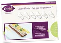 Mycookit a démarré avec trois recettes.