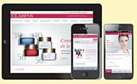 Clarins se lance dans le m-commerce avec eCommera