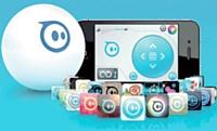 La balle Sphero peut être pilotée grâce à un smartphone.