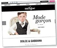 Le site Melijoe.fr n'est pas construit comme un site marchand classique mais davantage comme un blog.