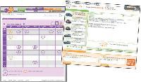 Un agenda des ventes permet de visualiser l'ensemble des séances disponibles.