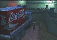 Microsoft propose aux annonceurs d'insérer des éléments brandés au sein de jeux vidéo, comme ici avec Coca-Cola.
