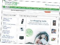Le site DoorOne.fr compte pas moins de 8 650 marques et 400 marchands.