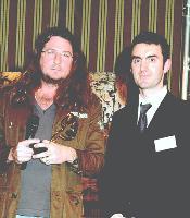 1er PRIX Jacques-Antoine Granjon (p-dg de vente-Privée) et Laurent kocinski, (Executive Manager de 1euro.com).