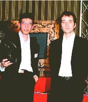 3e PRIX Jean-Marie Boucher (cofondateur de ConsoGlobe) et DAVID BOTVINIK (directeur général de Fia-Net).