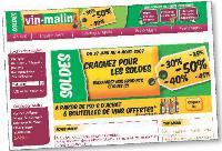 Pour séduire les internautes, Vin-Malin multiplie les offres promotionnelles.