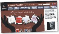 Quelques semaines après le lancement du site, Château Shop enregistrait 15 ventes quotidiennes.