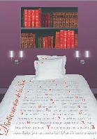 La housse de couette «Dictionnaire de la nuit» coûte entre 45 et 60 euros.