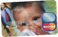 LaSer accompagne déjà des clients à l'étranger. Ici, la carte cobrandée Adams et Mastercard au Royaume-Uni.
