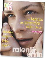 La marque a lancé un magazine de 28 pages destiné aux consommatrices assidues, qui peuvent retrouver les rubriques sur le site web
