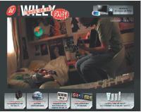 Willy est un ado qui ne quitte plus sa chambre à cause de ses problèmes de peau.