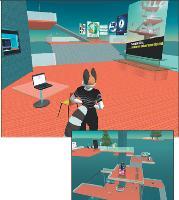 L'agence Wunderman Paris vous attend sur son île... sur Second Life.