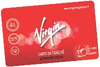 La nouvelle carte, gratuite, porte les messages du «plaisir», baseline propre à Virgin.