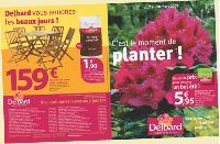 Chaque mois, Delbard distribue un mini catalogue avec les offres du moment.