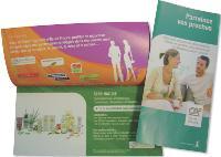 Le système de parrainage s'appuie sur des leaflets, un site internet et des cadeaux.