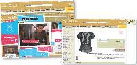 Lors de la diffusion de la série, l'internaute clique sur le chemisier de l'actrice, puis est redirigé vers le catalogue en ligne de Quelle.