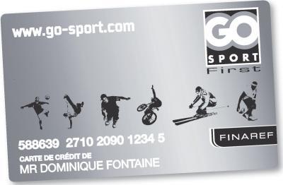 carte fidélité go sport Go Sport se dote d'une carte «premium»