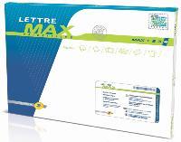 La lettre Max, une enveloppe de 2 cm d'épaisseur adaptée aux formats des BAL, est disponible en quatre formats.