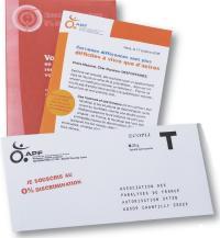 Un courrier destiné à sensibiliser une cible plus jeune en s'appuyant sur un reportage vidéo mettant en scène des personnes handicapées, victimes de discriminations