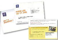 Dans sa communication vers la cible jeunes des 16-25 ans, La Banque Postale adopte un ton plus décalé que pour ses courriers vers les cibles plus traditionnelles.