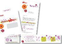 Dans son un mailing «Merci» Auchan a envoyé des semences de fleurs à 300 000 clients fidèles dans du papier buvard biodégradable.