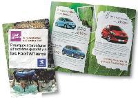 Pour son opération commerciale les «Facil'Affaires» Peugeot s'est inspiré de Koh Lanta pour inciter les prospects ou clients de Polynésie française et de Guyane à se rendre dans des concessions.